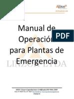 Manual Operacion Planta