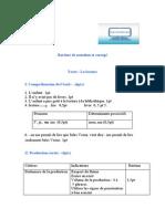حلول - Bareme de Notation
