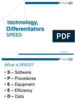 Technology Differentiators - SPEED