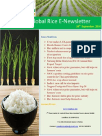 29th September 2014 Daily Global Rice E-Newsletter by Riceplus Magazine