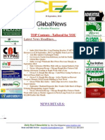 30 September 2014 Daily Exclusive ORYZA E-Newsletter by Riceplus Magazine