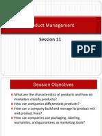 S 11 Product Management