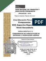 Modulo Nº 5 Ept Constit de Empresas y Legislación Laboral 2010 Terminado