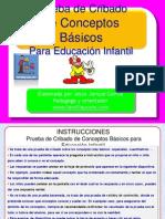 05 Infantil Prueba Evaluación Conceptos Básicos