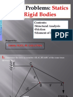 Statics of Rigid Bodies