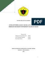 APLIKASI PEMBELAJARAN AKSARA JAWA INTERAKTIF BERBASIS MICROSOFT POWERPOINT MACRO-ENABLED