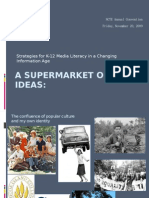 A Supermarket of Ideas NCTE 2009
