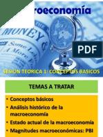 Primera Clase Macroeconomia 2014