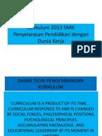 Kurikulum 2013 SMK