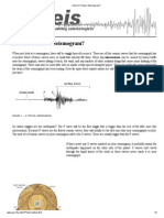 How Do I Read a Seismogram