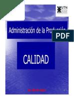 Iem III - Administracion de La Produccion - Calidad