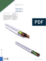 Catalogo e caratteristiche cavi elettrici