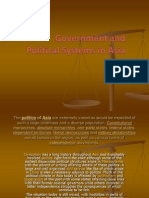 Asia Government and Political Systems - Asia
