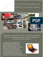 Latest Innovations in Materials Engineering