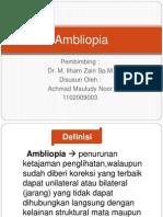 ambliopia referat