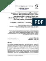 Despositional Environment Using Calcareous Nannofossil