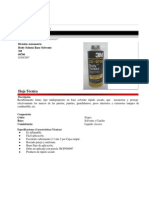 Hoja Técnica Body Schutz 9700