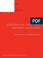 Election Day Long Lines- Resource Allocation