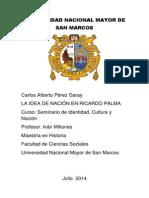 La Idea de Nación en Ricardo Palma 2