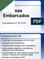 Controladores PI PD e PID