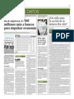 BCR Inyecta 560 Millones de Soles Más a Bancos_Gestión 30-09-2014