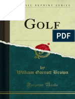 Golf by William Garrott Brown