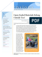 open ended materials