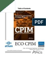 aChain APICS - ECO CPIM APICS - http://www.achain.com.br/