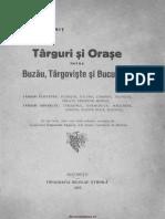 Targuri Si Orase Intre Buzau, Targoviste Si Bucuresti