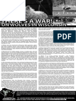 THERE'S A WAR! On Wolves in Wisconsin