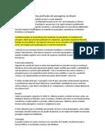 Regulamentação Profissão Paisagista