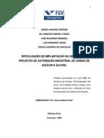 Dificuldades na Implantação da Gerencia de Projetos de Automação Industrial em Usinas Sucroalcooleiras.pdf