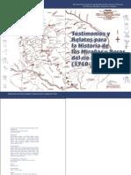 Testimonios y relatos para la historia de los Boras y Mirañas del Río Cahuinarí