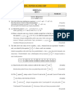 SPM 2014 Add Math Modul SBP Super Score [Lemah] K2 Set 3 Dan Skema