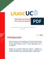 Perfil Alumnos Duoc San Carlos