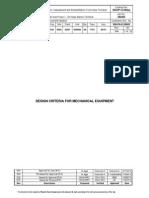 Design Criteria for Mechanical Equipment 4S. 4300 SAI S0003 ISGP G00000 ...