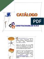 Catalogo Construcmuebles