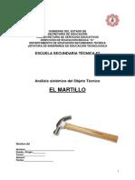 Analisis Sistemico de Objeto Tecnico Del Martillo