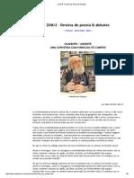 Entrevista Com Haroldo de Campos
