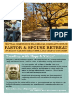 2014 CCMA Fall Retreat Brochure