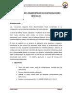 Irregularidades Significativas en Configuraciones Sencillas