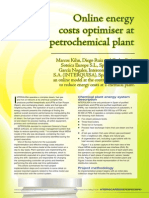 Hydrocarbon Engineering Online Energy Costs Optimizer at Petrochemical Plant Visualmesa