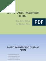 Estatuto Del Trabajador Rural