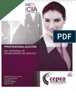 Asistente de Gerencia. Profesionalización Del Personal de Secretariado en Servicio. Para Optar El Titulo de Profesional Técnico en Secretariado Ejecutivo