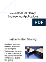Elastomer for Heavy Engineering Applications
