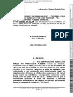 Sidnei Da Silva Alegacoes Finais Criminais Trafico e Associacao
