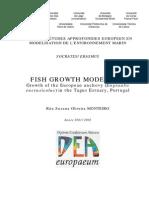 Fish Growth Modelling