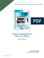 Tecnicas Administrativas Basicas de Oficina_Guia Didactica