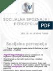 3.1. Soc.spoz. i Percepcija
