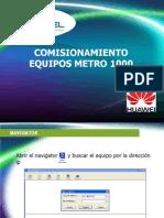 Manual Comisionamiento Metro 10002